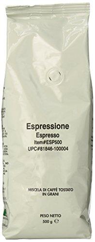 Espressione Espresso Blend Whole Bean Coffee, 500-Grams