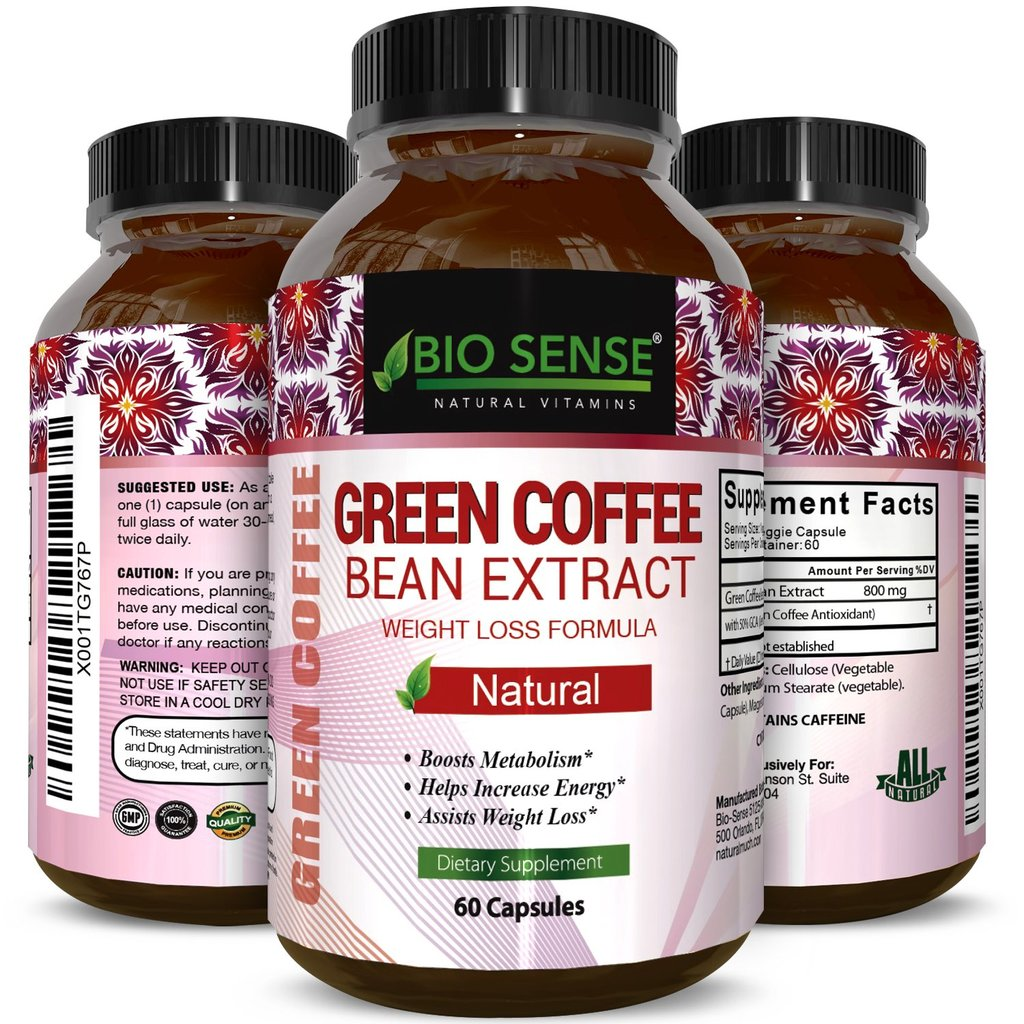 Bio Sense Pure Green Coffee Bean Extract