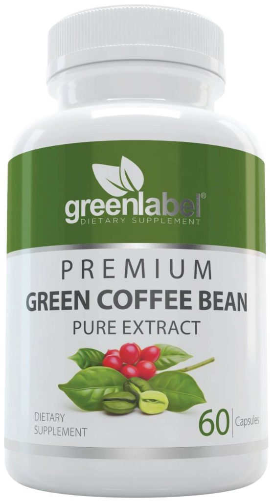 Green label Premium Green Coffee Bean Extract