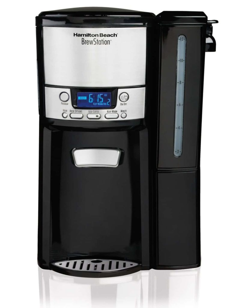 Hamilton Beach 12-Cup Coffee Maker Dispensing Coffee Machine