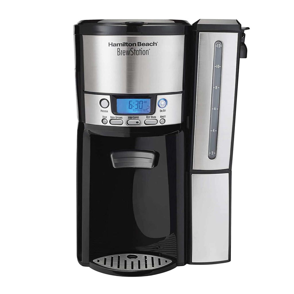 Hamilton Beach Coffee Maker with 12-cup Capacity