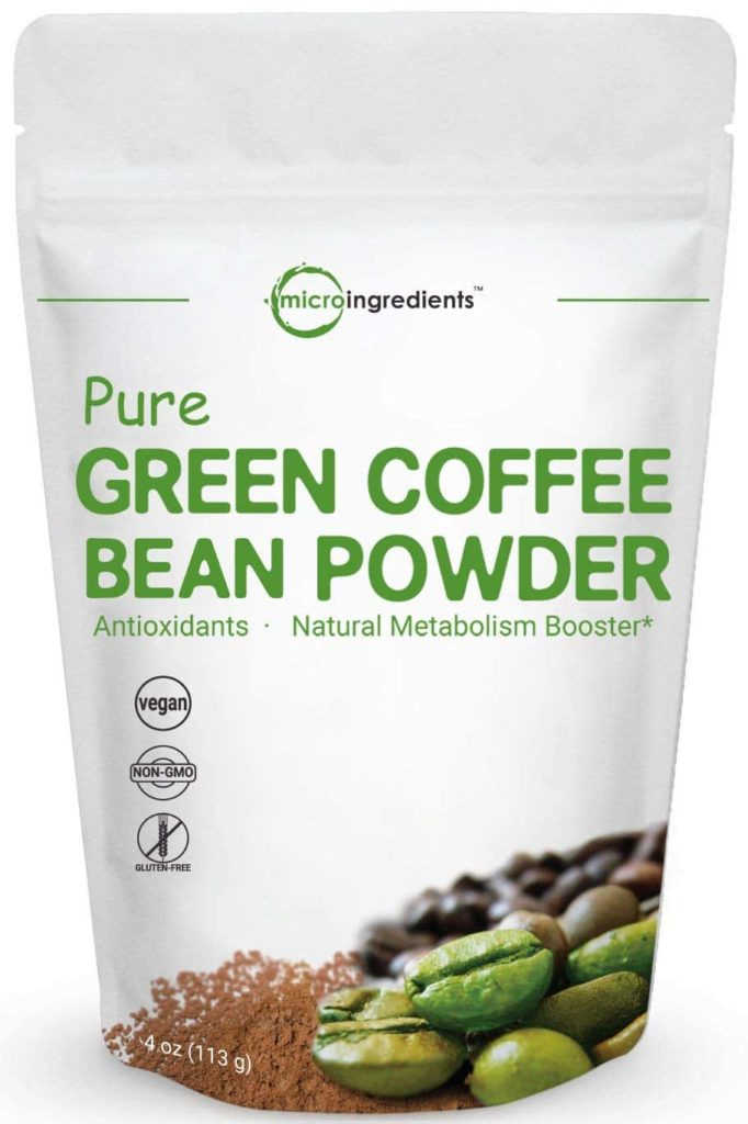 Micro Ingredients Green Coffee Bean