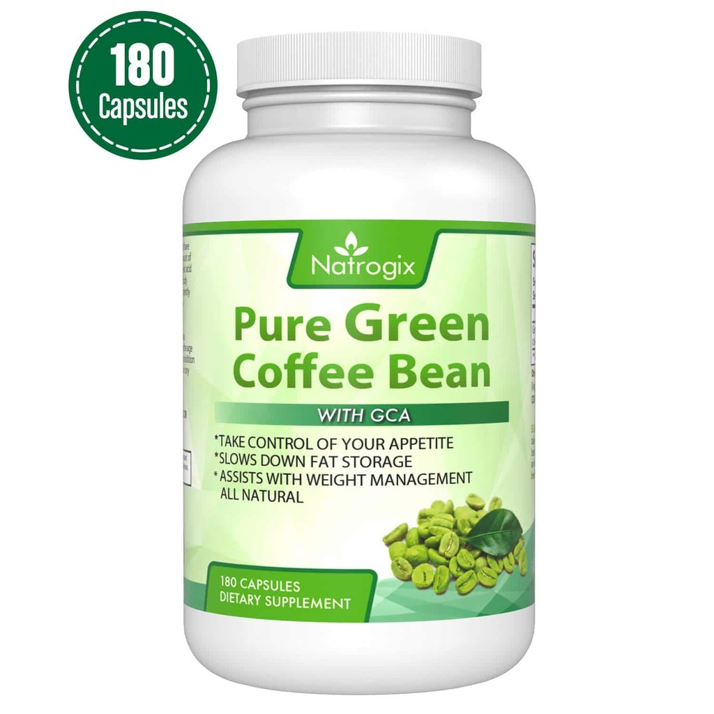 Natrogix 800mg Green Coffee Bean Extract