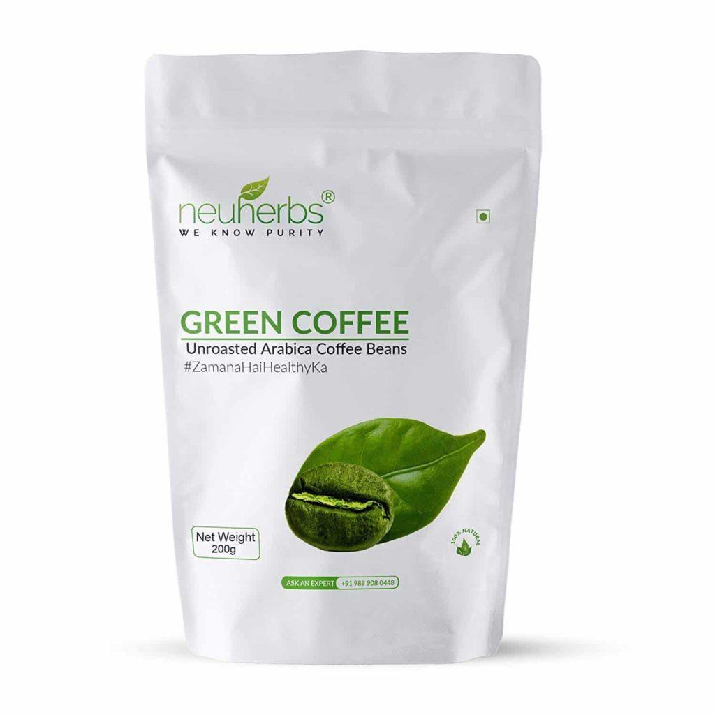 Neuherbs Organic Green Coffee Beans for Weight Loss