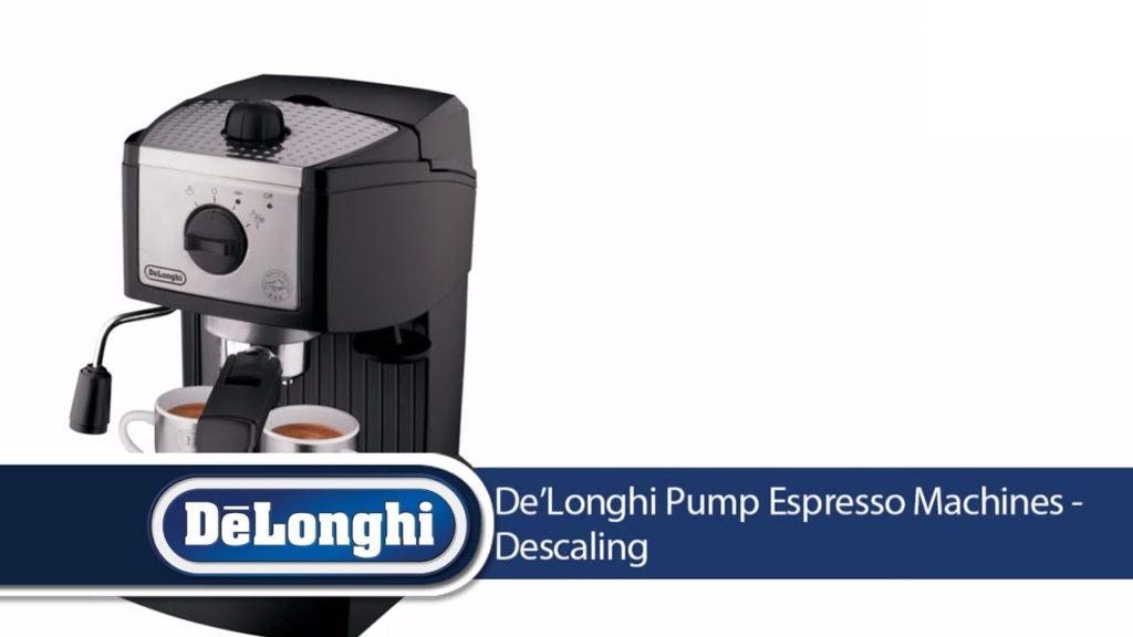 How To Descale DeLonghi Espresso Machine