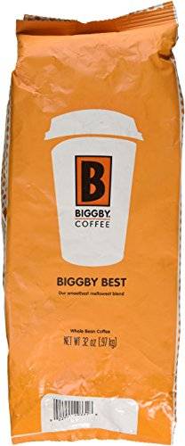 Biggbys Biggby Best 32 Oz Bag, Whole Bean, Smooth Mellow Blend