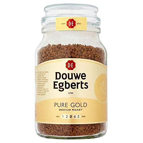 Douwe Egberts Pure Gold Medium Roast Coffee (190g)
