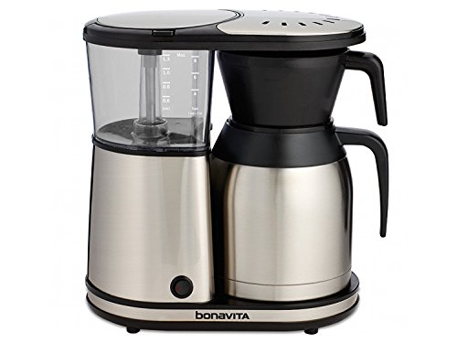 Bonavita BV1900TS 8-Cup One-Touch Coffee Maker Featuring Thermal Carafe, Stainless Steel