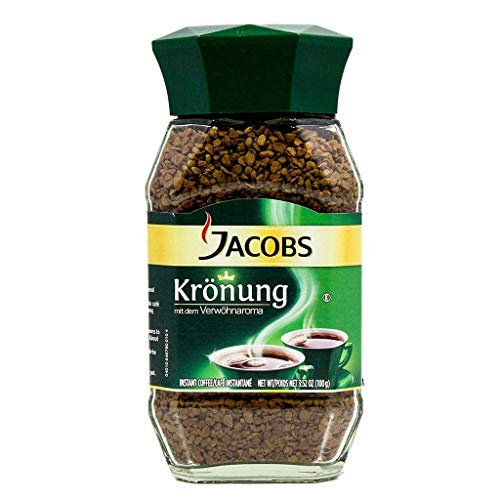 Jacobs Kronung Instant Coffee 200 Gram / 7.05 Ounce (Pack of 6)