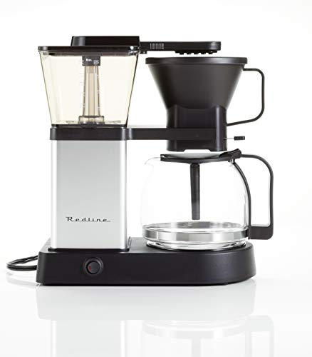 Redline MK1 Coffee Brewer (195-205 Optimum Brew Temperature, Pre-Infusion Mode Included).