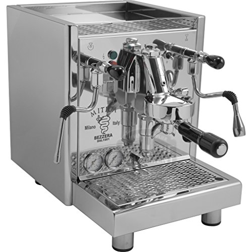 Bezzera Mitica Commercial Espresso Machine - HX SS PID boiler switchable tank / direct connect Rotary Vane Pump