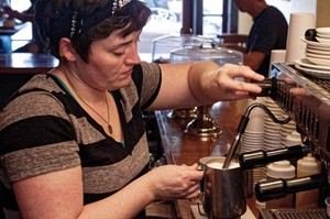 how to froth milk with espresso machine