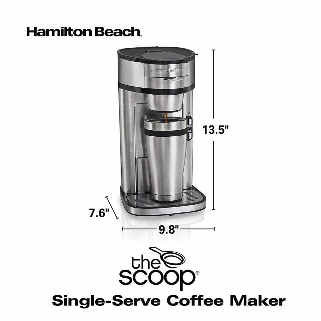 Hamilton Beach The Scoop Single-Serve Coffee Maker