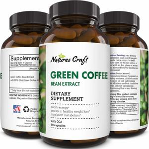 Natures Craft Green Coffee Bean Extract
