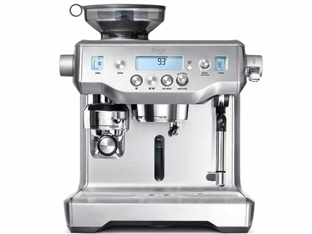Sage BES980BSS the Oracle Espresso Semi-Automatic Espresso Machine
