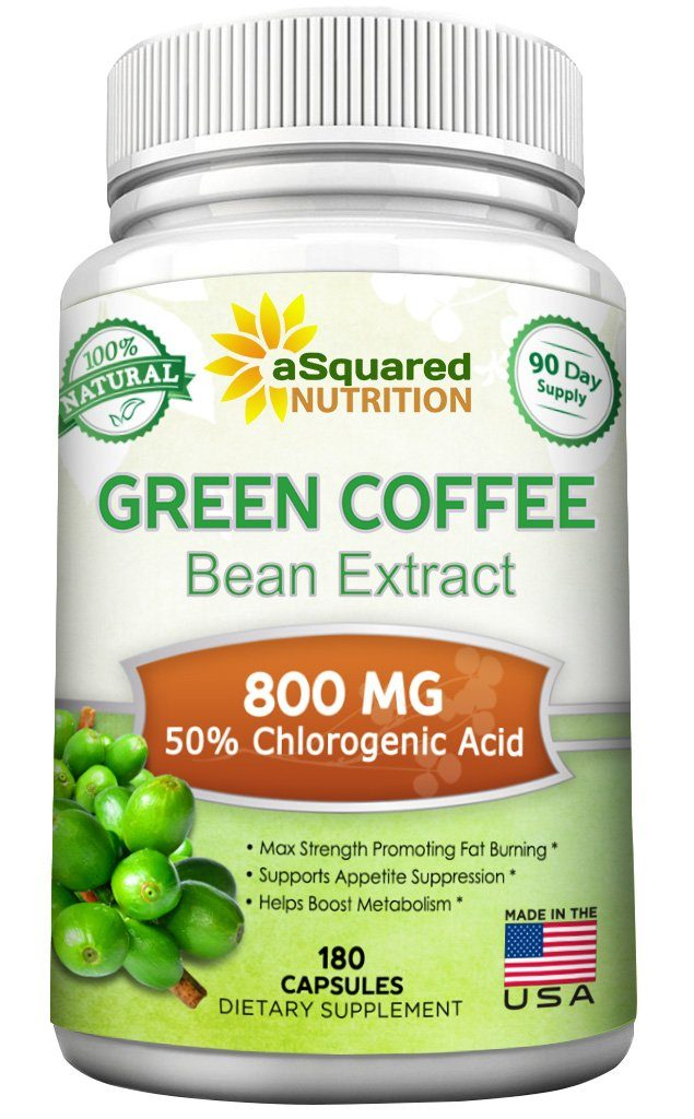 aSquared Nutrition Green Coffee Bean Extracts