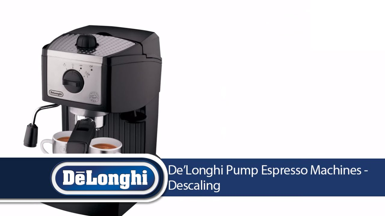 How To Descale DeLonghi Espresso Machine