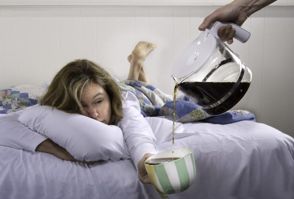 How To Sleep After Drinking Too Much Caffeine